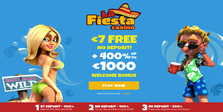 La Fiesta Casino: Exclusive €7 No Deposit