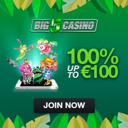 Big 5 Casino Bonus And Review