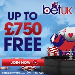 BetUK Casino Bonus And Review