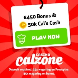 Calzone Casino Bonus And Review