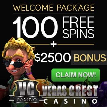 Vegas Crest Casino Bonus And Review