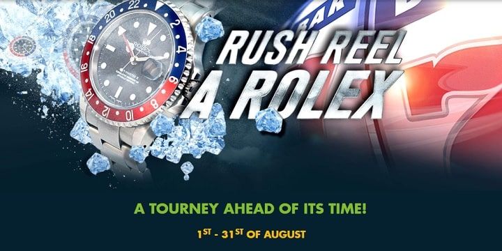 Black Diamond Casino: Rush Reel A Rolex