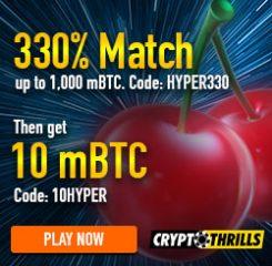 CryptoThrills Casino Banner 250x250