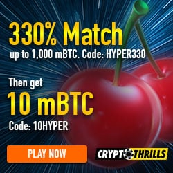 Crypto Thrills Casino Bonus And Review