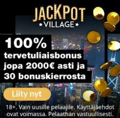 JackpotVilage Casino banner