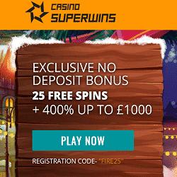 SuperWins Casino Bonus And Review