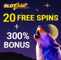 Slot Joint Casino Banner - 250x250