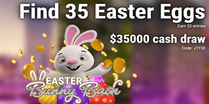 Lucky Creek: $35000 Easter Bunny Bash