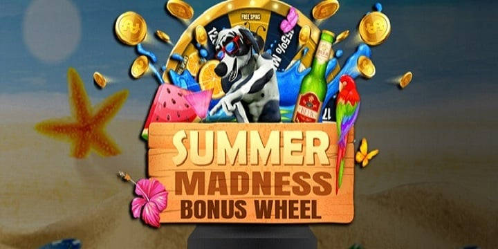 Jackpot Wheel Casino promotion