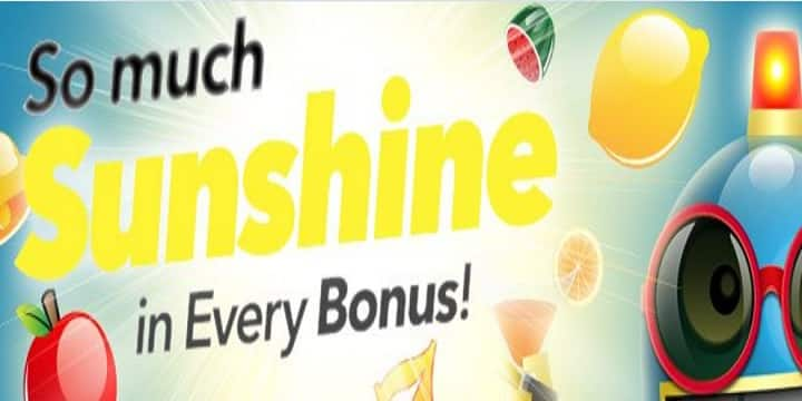 Sloto Cash Casino: Sunshine Bonuses