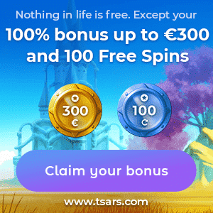 Tsars Casino Bonus And Review