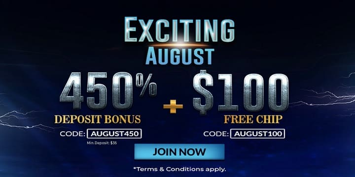 Slots7Casino: Exciting August Promotion