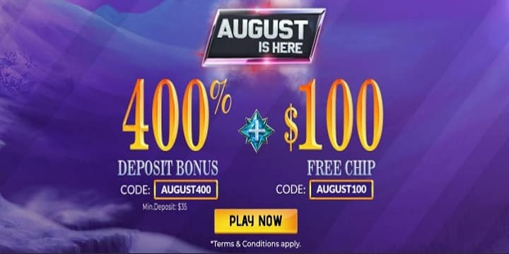Slots Villa Casino - August is still here