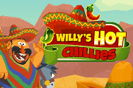 Willy's Hot Chillies Video Slot Banner - freespinscasino.org