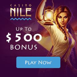 Casino Nile Bonus And Review