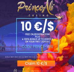 Princeali Casino Banner - 250x250